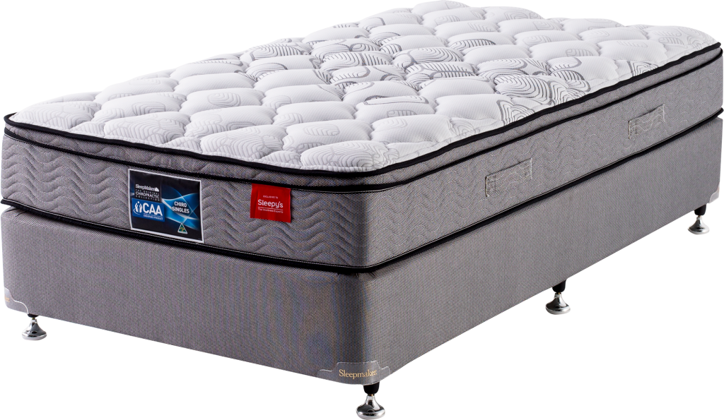 king single size bed and ensemble