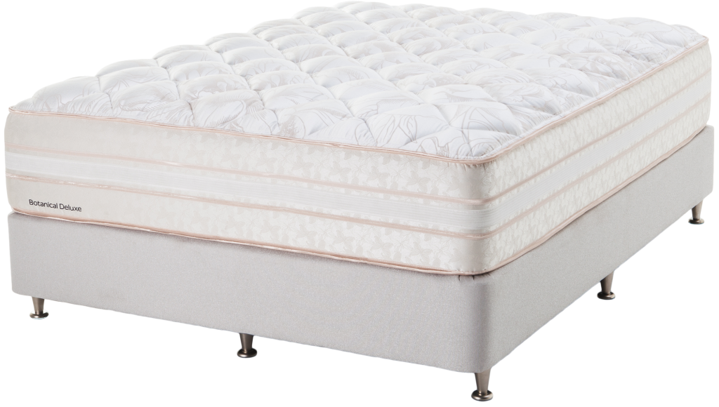 queen size bed and ensemble