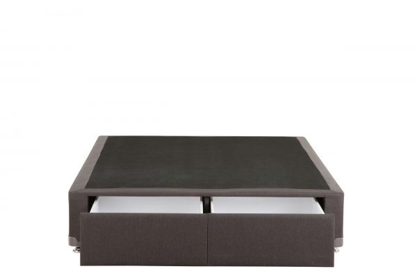 Sleepy's Asphalt 2 Drawer Bed Base