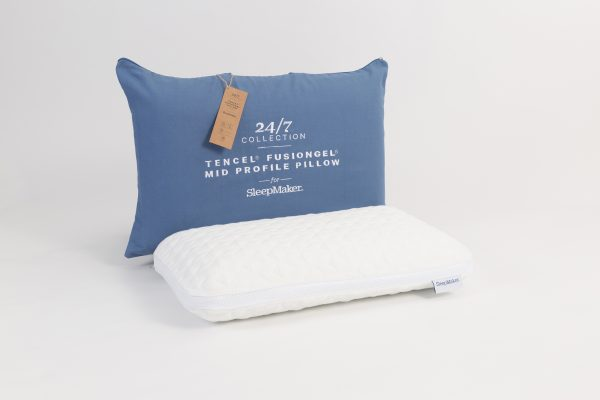 Sleepmaker 24/7 Medium Profile Pillow