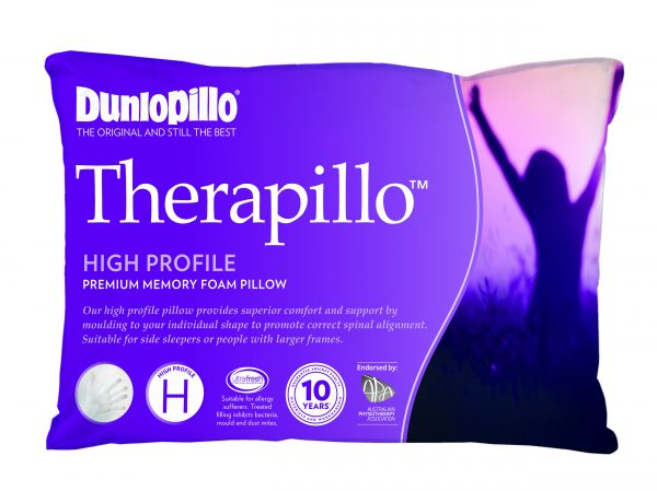 Therapillo Premium Memory Foam High Profile Pillow