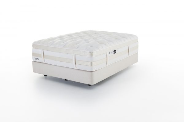 Sleepy's Cocoon Champagne Cream Bed Base