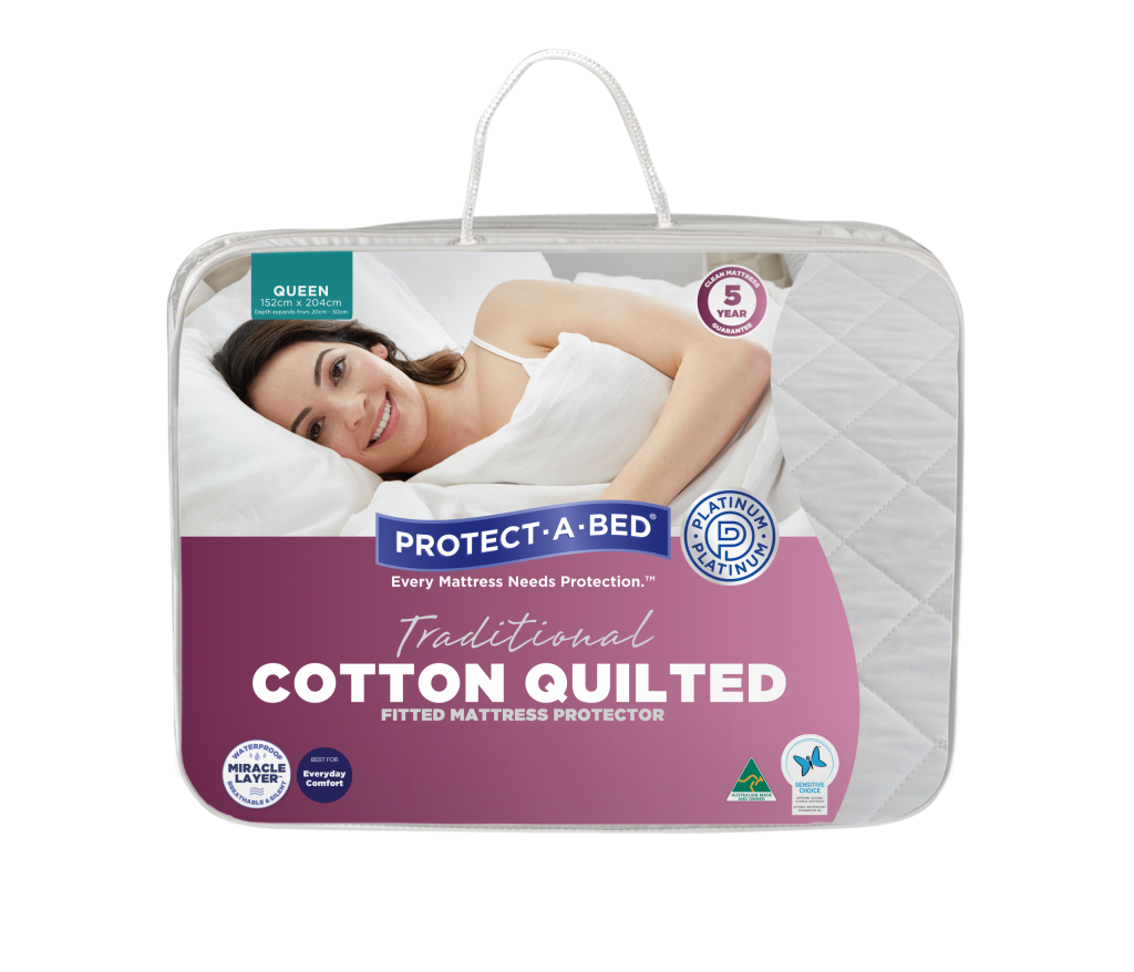 Cotton Quilted Fitted Mattress Protector
