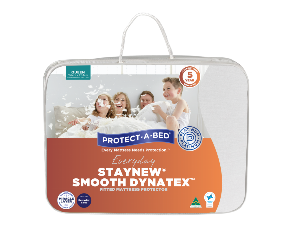 Staynew® Smooth Dynatex™ Fitted Mattress Protector