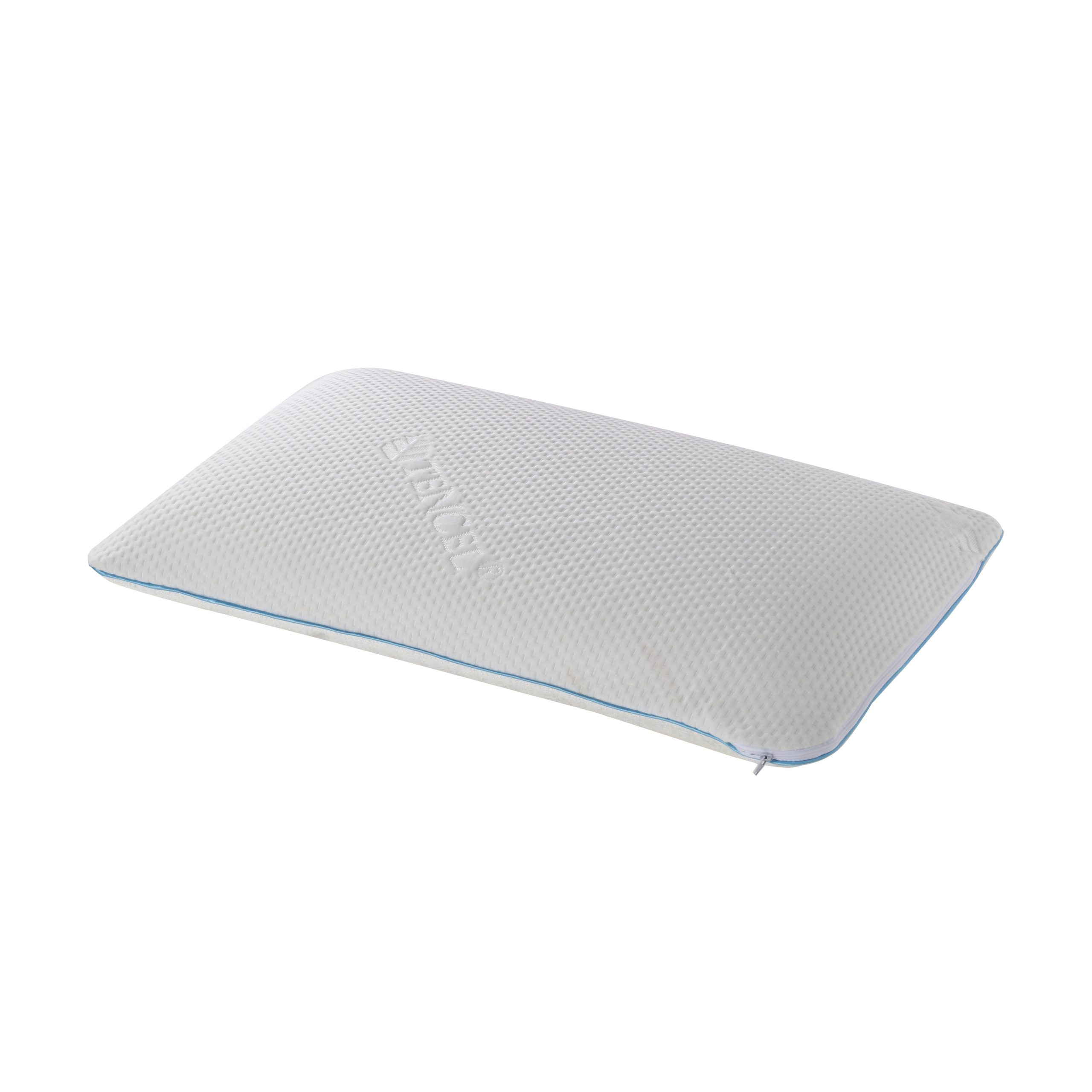 Belize Talalay Latex Pillow with Dual Sleep Surface Pillow Cover - Cooltouch & Tencel - Standard Size