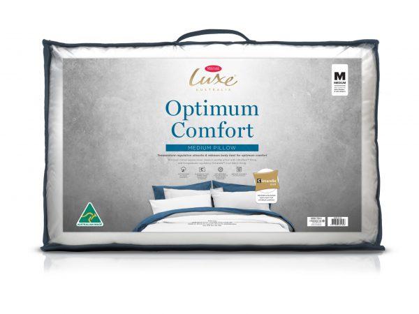 Tontine Luxe Optimum Comfort Temperature Control Medium Pillow