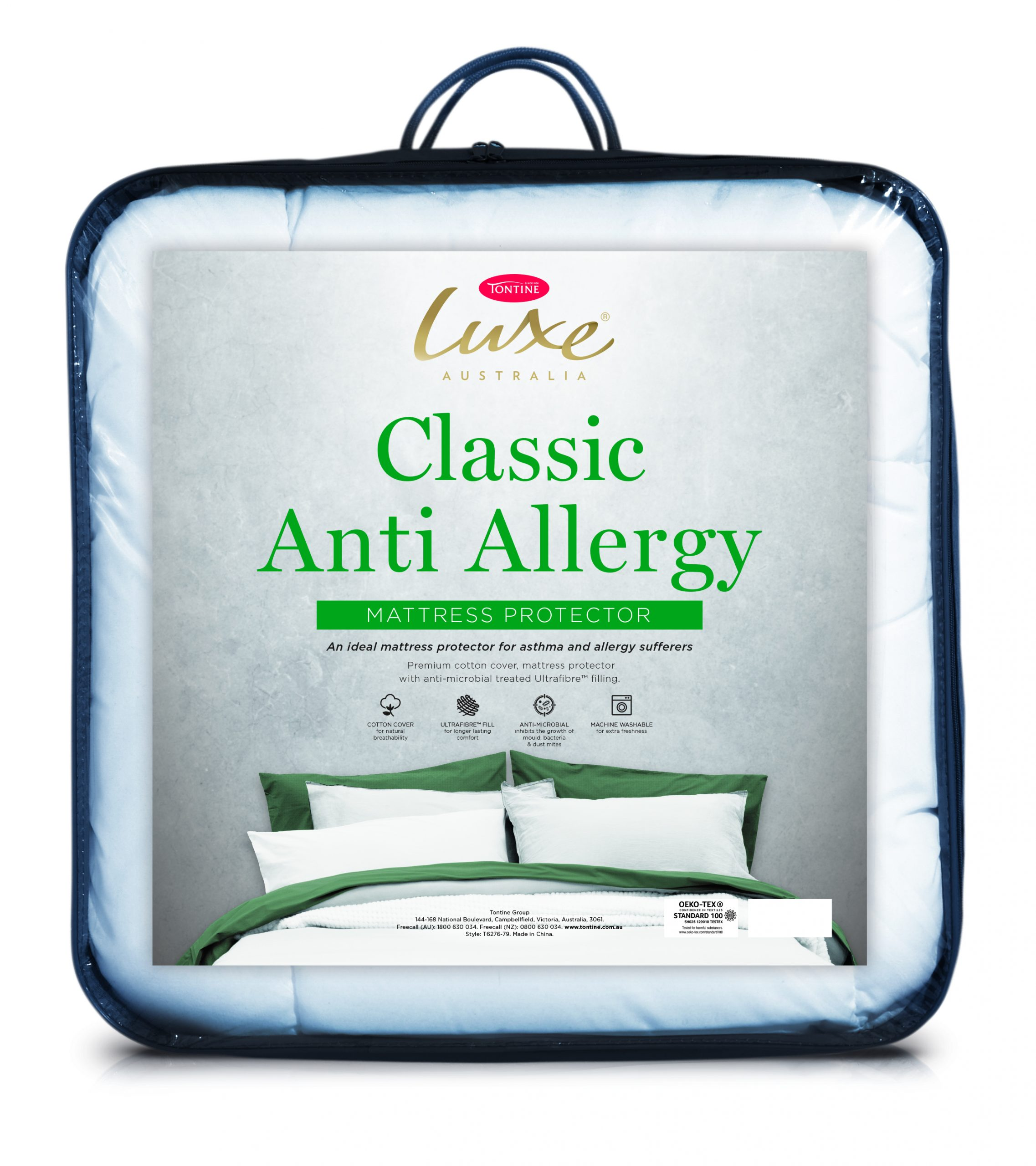 Tontine Luxe Anti-Allergy Mattress Protector