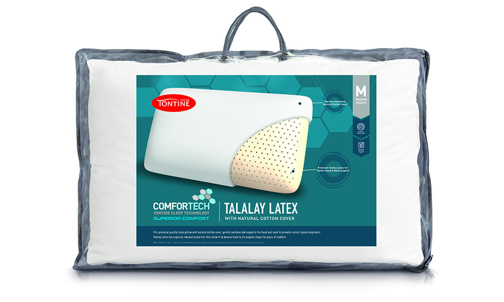 Comfortech Talalay Latex Pillow